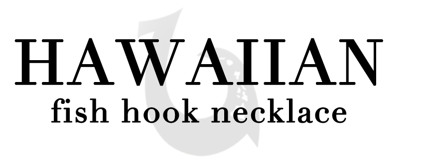 Hawaiian Fish Hook Necklace